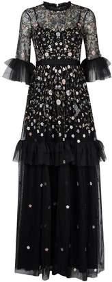 Needle & Thread Dusk Floral Gown