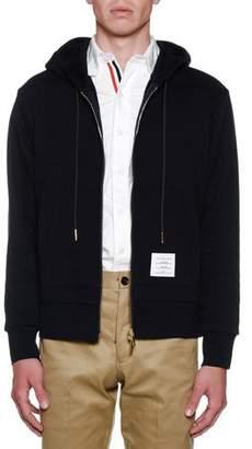Thom Browne Men's Classic Loopback Pullover Hoodie