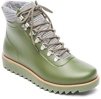 Bernardo Winnie Lace-Up Rubber Rain Boots