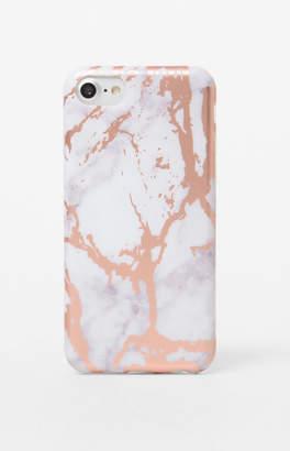 La Hearts Rose Marble iPhone 6/7/8 Case