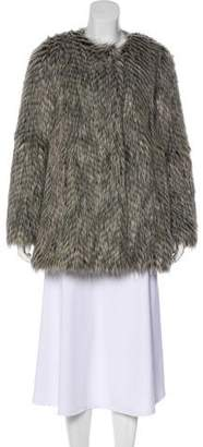 Marc by Marc Jacobs Rickie Faux Fur Coat