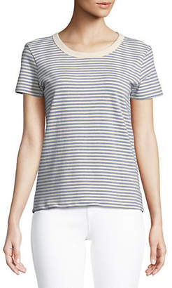 Current/Elliott CURRENT ELLIOTT The Boy Striped Tee