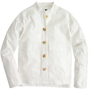 J.CrewJapanese poplin safari jacket