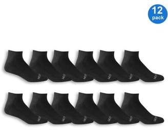 Fruit of the Loom Mens Low Cut Socks Value 12 Pack