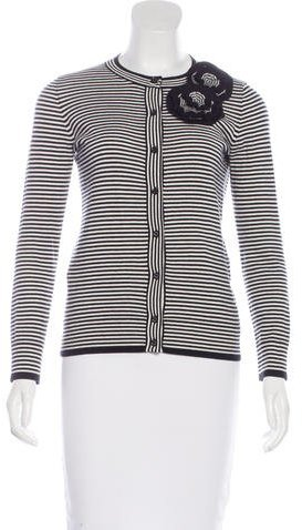 Kate Spade Kate Spade New York Striped Button-Up Cardigan