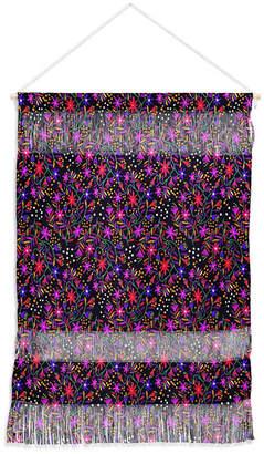 "Deny Designs Joy Laforme Exotic Flora Deco Wall Hanging Portrait, 22""x32"""