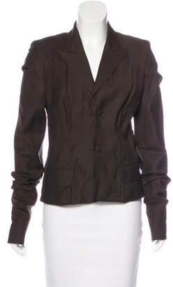 Saint Laurent Silk Suit Jacket