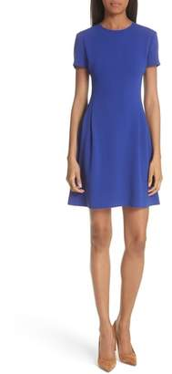 Theory Elevate Crepe Fit & Flare Dress