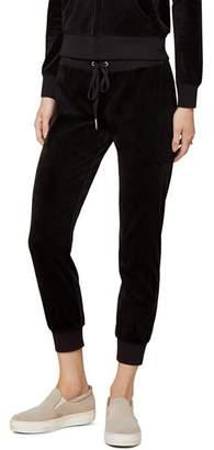Juicy Couture Black Label Luxe Zuma Velour Jogger Pants