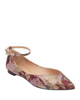 Sigerson Morrison Suzie Jacquard Ballet Flats