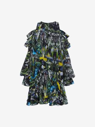 Alexander McQueen Dark Ophelia Mini Dress