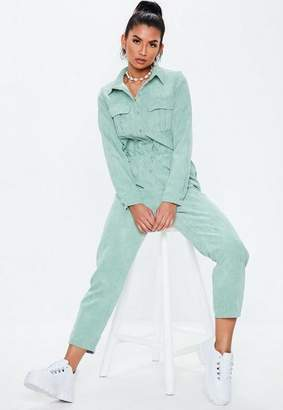 Missguided Cord Utility Romper