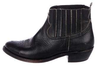 Golden Goose Leather Ankle Boots
