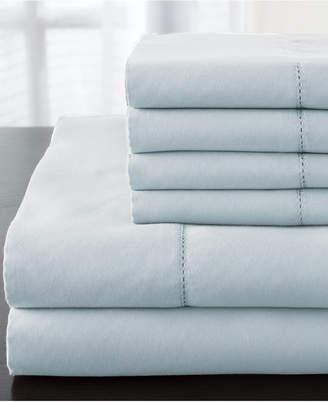 Elite Home Solid Luxury 1200 Thread Count 6-Pc. Queen Sheet Set Bedding