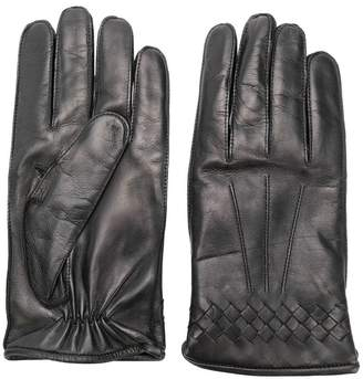Bottega Veneta leather gloves