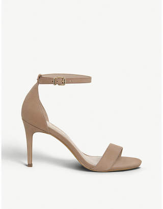 5d4c249bfcac Office Mimosa mid-heel nubuck leather sandals