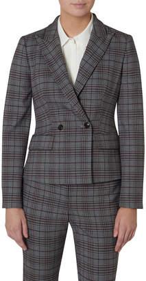 David Lawrence Plaid Suit Jacket