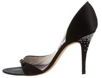 Christian Lacroix Jewel-Embellished Buckle-Accented Sandals