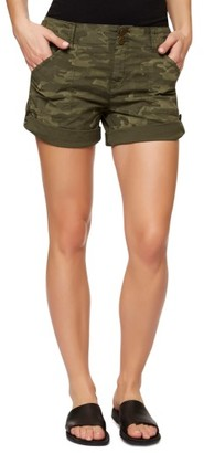 Women's Sanctuary Habitat Camo Print Shorts $79 thestylecure.com