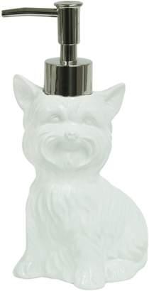 Bacova Guild Terrier Dog Ceramic Lotion Dispenser