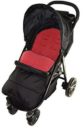 Maclaren Footmuff/Cosy Toes Compatible with Techno Pushchair Fire Red