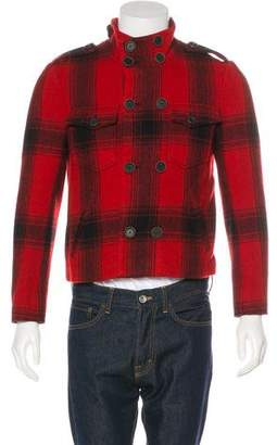 3.1 Phillip Lim Cropped Plaid Wool Jacket