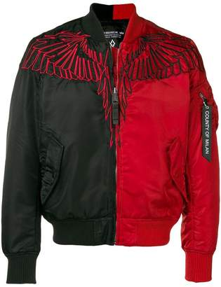 Marcelo Burlon County of Milan wings Alpha MA-1 jacket