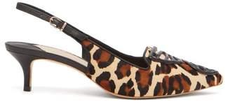 aeb6a104c687 Sophia Webster Bibi Leopard Print Calf Hair Pumps - Womens - Leopard