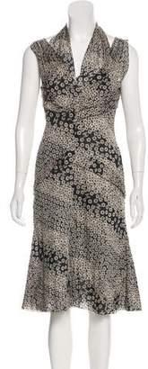 Chanel Printed Mini Dress