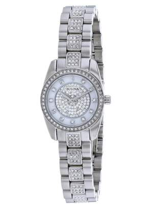 Bulova Women's Crystal Accented Watch, 24mm