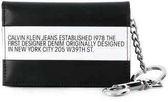 Calvin Klein Jeans Est. 1978 chain wallet
