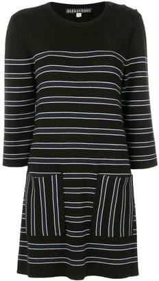 Alexa Chung Woman Shirred Gingham Poplin Mini Dress Black Size 12 AlexaChung 81LWcj