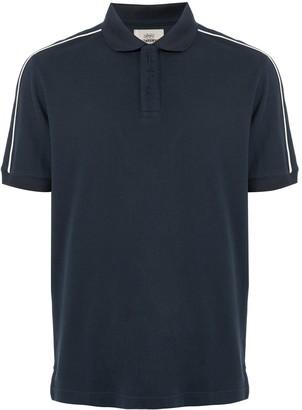 Kent & Curwen side stripe polo shirt