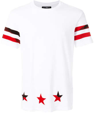 Hydrogen striped star T-shirt