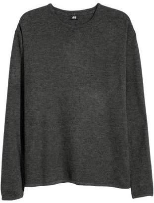 H&M Long-sleeved Shirt - Gray