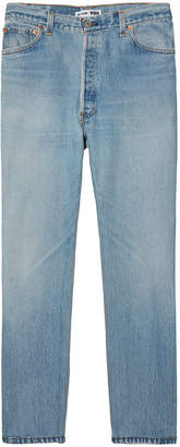 RE/DONE High-Rise Ankle Crop (Non-Destruct)