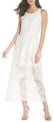CAARA Bow Tie Lace Dress