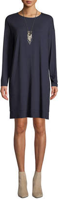 Eileen Fisher Lightweight Jersey Knee-Length Dress