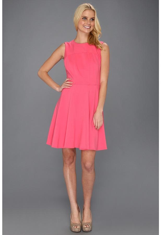Nanette Lepore Superslide Dress (Tulip) - Apparel