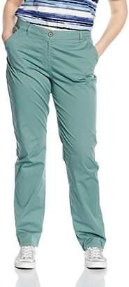 Frapp Women's Slim Trousers LANGE MIT SCHMALEM LEG, Size (manufacturer size: 42)
