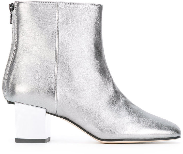 Marc Ellis - metallic (Grey) boots - women - Leather - 37