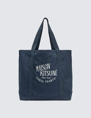 MAISON KITSUNÉ Palais Royal Tote Bag
