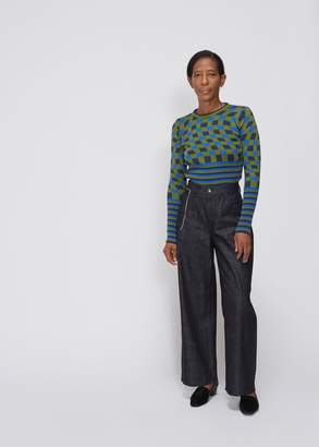 Marni Crop Denim Trouser