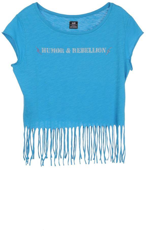 e.vil Sleeveless t-shirts