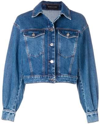 Sportmax Code cropped denim jacket