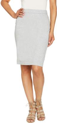 Susan Graver Weekend French Terry Skirt