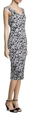Michael Kors Floral Jacquard Dress
