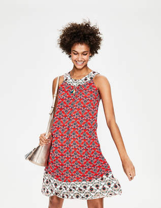 Boden Printed Swing Dress