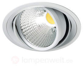 Kardanisch schwenkbarer LED-Einbauspot Carda
