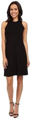 Karen Kane Hi Neck A-Line Dress Women's Dress